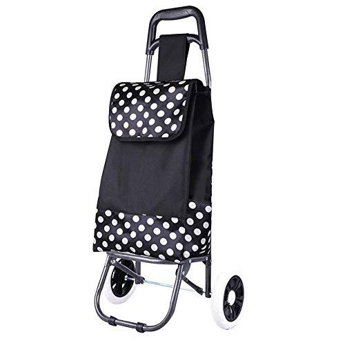 SXRNN klappbarer Einkaufstrolley Verschleißfeste Schaumstoffrolle Faltbarer Einkaufsroller für Senioren mit eingeschränkter Mobilität 2 Farben