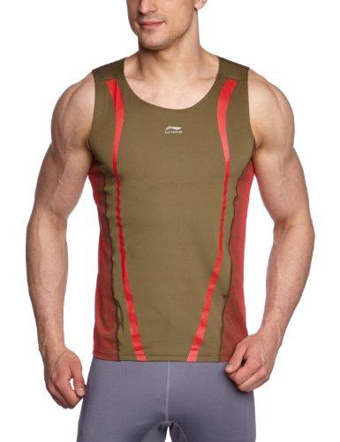 li-ning-camiseta-de-running-para-hombre-tamano-l-color-verde-oscuro