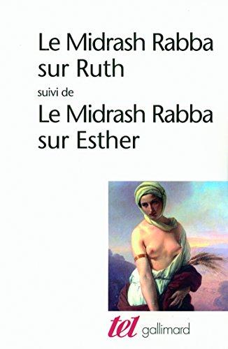 Le Midrash Rabba sur Ruth/Le Midrash Rabba sur Esther par Anonymes