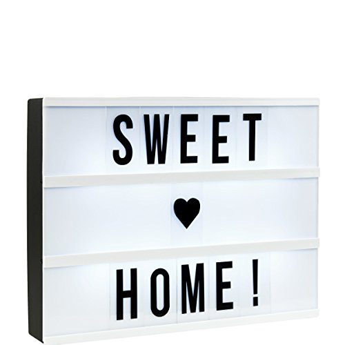 butlers blockbuster light box a4 leuchtkasten mit 85. Black Bedroom Furniture Sets. Home Design Ideas
