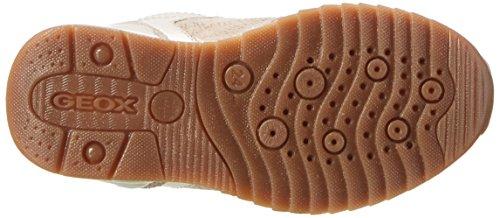 Geox J Maisie C, Sneakers Basses Fille Beige (Beigec5000)