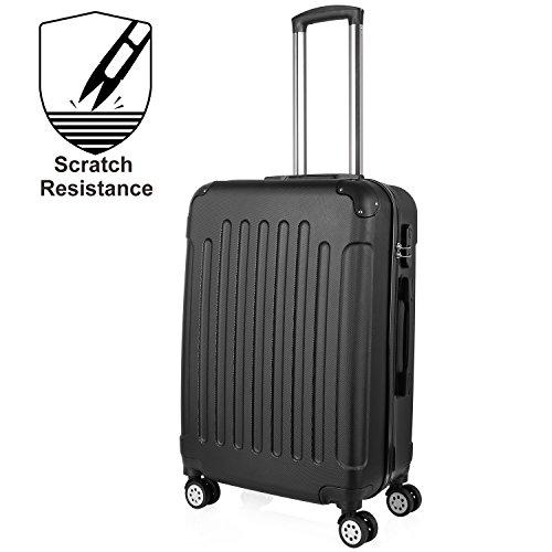 Valise Cabine - Bagage Cabine - Valise Pour Cabine -Valise 4 Roues - Valise Avion Cabine - Sets de bagages - Sacs de Voyage - 24 Pouce - 64 cm