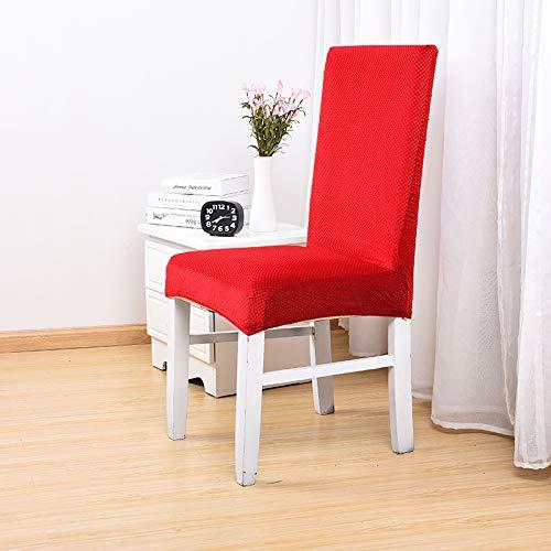 Happymxwx tessuto elastico spesso codice codice rosso,coprisedie con schienale elasticizzato stampa floreale vestisedia moderno universale fodera per sedie copertura della sedia sala da pranzo
