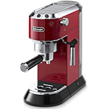 DeLonghi EC 680.R - Cafetera (acero inoxidable, capacidad 1 litro, anti goteo), color rojo