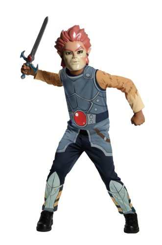 umpsuit & Mask Costume Child (Lion O Kostüm)