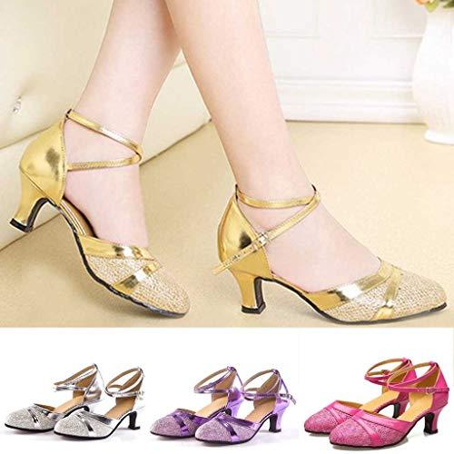 6c8843e4a Zapatos de Tacones para Mujer Zapatos de Baile Latino Zapatos de tacón Fiesta  Tango Salsa Zapatos de Baile Sandalias de Vestir