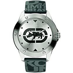 Ecko Unlimited Herren-Armbanduhr Analog Grau E09520G7