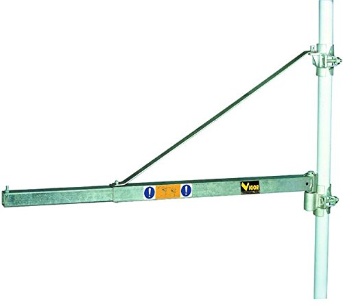 VUEMME 49732-15 Mounting arm electric hoist accessory - electric hoist accessories (Mounting arm, Stainless steel, Metal, Round) Test