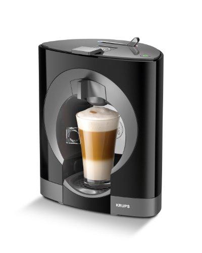 Krups YY2290FD Machine à Café à Capsules Nescafé Dolce Gusto Oblo Noir Manuelle Qualité Professionnelle Pression 15 bars Large Choix de Boissons Chaudes et Froides