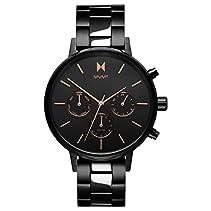 MVMT NOVA Crux Titan und Roségold Edelstahl Damen Armbanduhr