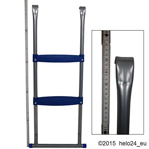 Einstiegsleiter für 430 cm Trampolin in blau - 5