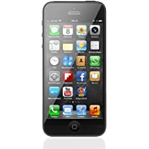 "Apple iPhone 5 - Smartphone libre iOS (pantalla 4"", cámara 8 Mp, 16 GB, Dual-Core 1.2 GHz, 1 GB RAM), negro"