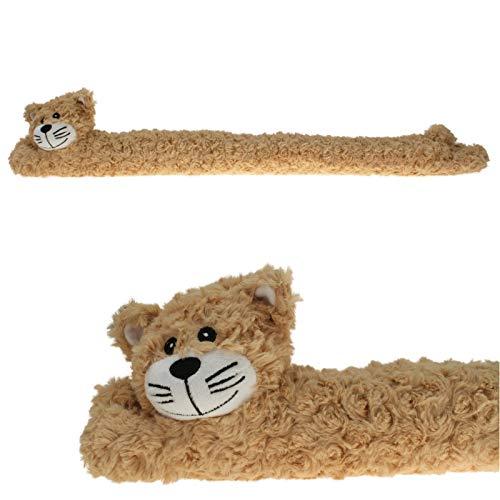 GYD Zugluftstopper Hund + Katze + Affe 90 cm Windstop (Katze)