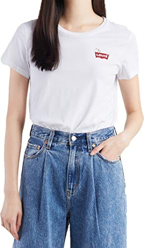 Levis The Perfect Tee Peanuts Housemark Chest S