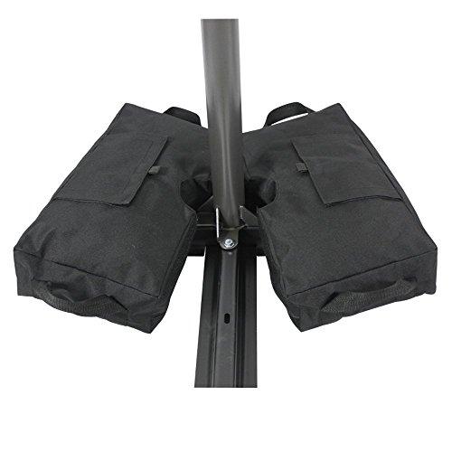 Hi suyi Tasche abnehmbar Gewicht Pavillon Sandsäcke für Terrasse Schirm der alle Formen 600D...