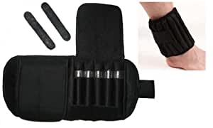 10 lbs Adjustable Ankle Weights-PAIR (SLIM FIT) With Iron Rods ZORI Brand [Misc.]