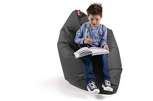 Sitzsack XL Tuli Sofa 100% Polyester 130 x 110 x 25 300l Made in EU Manufaktur Sessel mit extra starken Nähten verschiedene Farben und Motiven Einschichtig - Sitzsäcke - Bodenkissen Sitzkissen Kissen Sessel Sitzsofa 100% Polyester Dunkelgrau