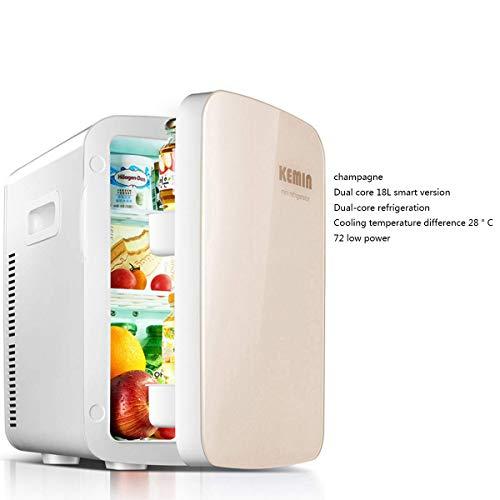 WZB kühlschrank Mini mit DualCoreSmartDisplay, 20 l kompaktem und tragbarem Kühlschrank AC und DCNetzkabel 100% freonfrei und umweltfreundlich, 4 57 Micro Mini