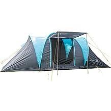 skandika Hammerfest 4 Protect - tienda campaña familiar - cúpula - mosquiteras - 2 dormitorios -