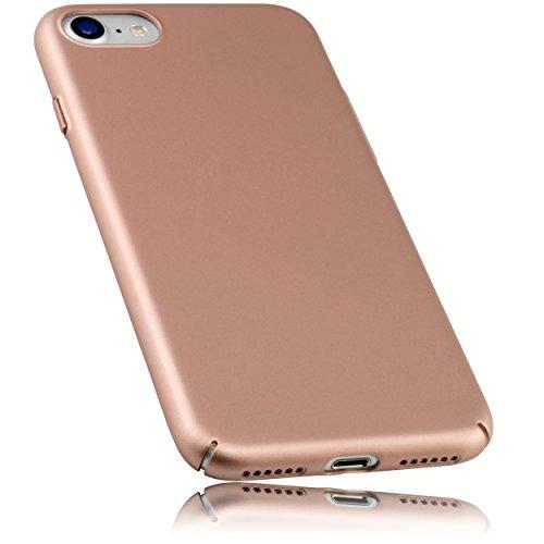 mumbi Hülle für iPhone 8 / iPhone 7 Schutzhülle federleicht mattiert Rose Gold