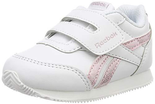 Reebok Royal CLJOG 2 KC, Zapatillas de Deporte para Niñas, Multicolor (Pastel/White/Practical Pink/Silver 000), 25 EU