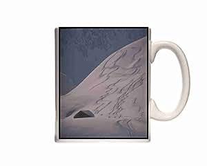 Mug Paysages 295039 pistes de Ski alpin Innsbruck Autriche Tasse en céramique-Coffret cadeau