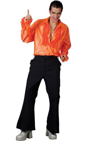 m-mens-orange-disco-ruffle-shirts-costume-for-70s-fancy-dress-disfraz