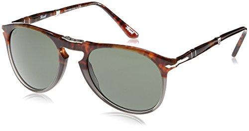 Persol Unisex PO9714S Sonnenbrille, Mehrfarbig (Fuoco e Ardesia/Grey 102331), Small (Herstellergröße: 52)
