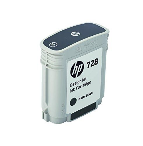 HP 728 F9J64A Cartouche d'encre d'origine Noir Mat