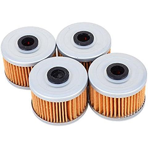 4pcs filtro de aceite para Honda atc250TRX250TRX250X trx300atc350TRX400trx700ATV