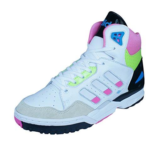 adidas adidas Originals Bankshot Frauen-Basketball-Turnschuhe/Schuhe-White-36.5