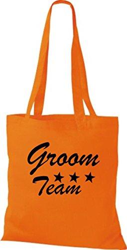 Shirtstown, Borsa tote donna Arancione (arancione)