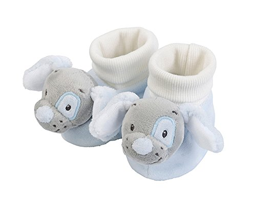 Nattou 604291 Socken hund, blau