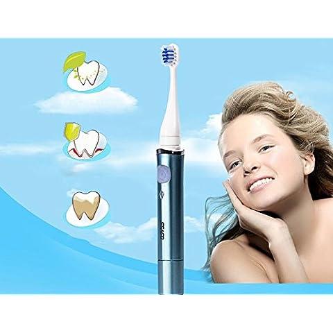 EE Usb Sonic ricaricabile elettrico spazzolino testa di