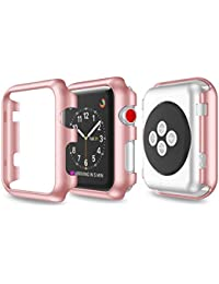 Funda protectora, Magiyard Para Apple Watch Serie 1/2 38mm/42mm (38mm, Rosa)
