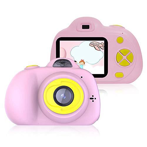Tenlso Cámara para Niños Cámara de Fotos Digital Pantalla LCD de 2 Pulgadas, Pequeña con Funda Protectora de Silicona Suave