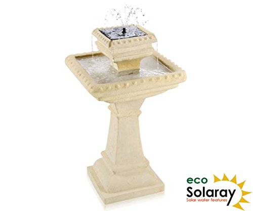 pizzaro-bianco-2-tier-caststone-automated-solar-bird-bath-with-lights-h80cm-by-solaray