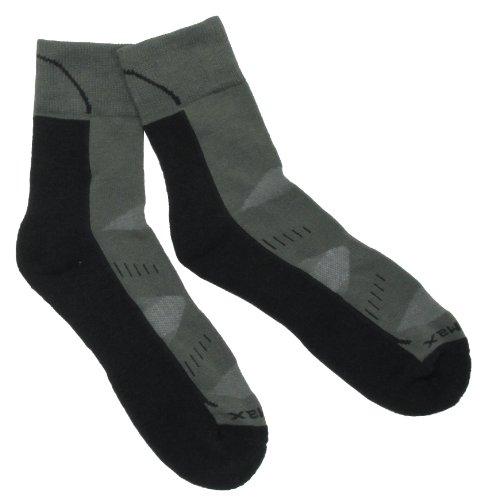 MFH paire de chaussettes chaussettes de trekking arber semelle rembourrée Vert Vert olive 42-44