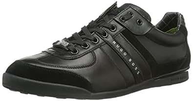 BOSS Green Aki 10167170 01, Men's Low-Top Sneakers, Black - Schwarz (Black 001), 6 UK