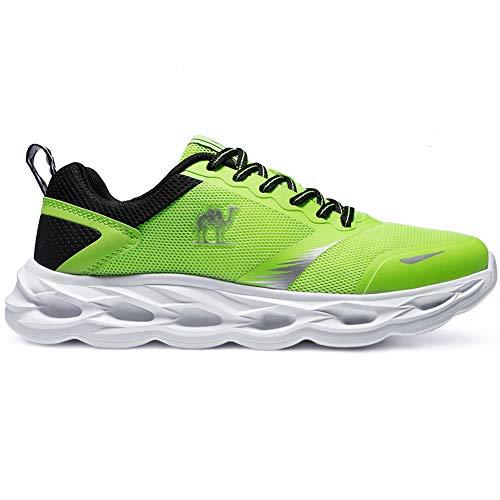 CAMEL CROWN Scarpe da Corsa su Strada Uomo Atletica Allenatore Leggera Trail Running Casuale Moda Sneaker Traspirante per la Palestra Sportiva Jogging Formazione Fitness