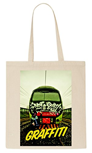 Graffiti Hip Hop T-Shirt Tote Bag (T-shirt Street Life)