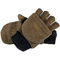 Blaser Fleece Fäustling Handschuhe Braun
