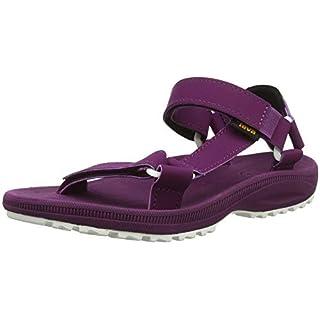 Teva Women's W Winsted S Open Toe Sandals, (Dark Purple Dapu), 6 UK