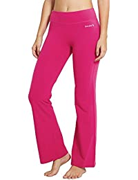 c19a8c836ee71 Amazon.fr   Pantalon Flare Femme - Rose   Vêtements