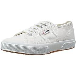 Superga 2750-Jcot Classic, Sneaker Unisex - Bambini, Bianco (901), 29