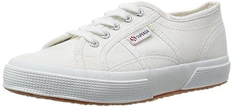 Superga 2750 Jcot Classic, Sneakers basses mixte enfant, Blanc, 34 EU