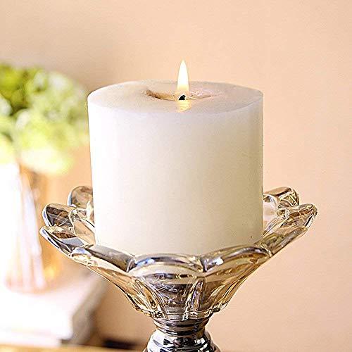 XQY Retro Kerzenständer Dekoration Kerzenhalter Eisen und Glas Material Romantische Mode Haushaltsgegenstände Zwei Größen Zwei Farbe Optional,B (12,5 * 41 cm),Bronze