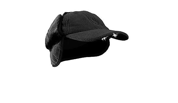 94bd079129e POWERCAP CUB4W-2443 LED Lighted Winter Fleece Hat with Ear Flaps ...