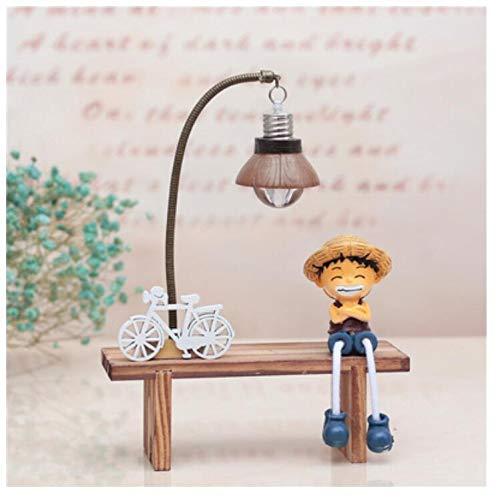 Kreatives nachtlicht zu senden mitschüler geburtstagsgeschenk harz handwerk dekoration nachttischlampe dekoration 15 * 10 * 21 cm