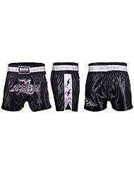 BOOM Prime Hombre Muay Thai Pantalones para MMA Kick Boxing Pelea Artes Marciales Engranaje Muay Thai